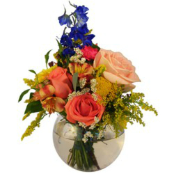Bubbles of Blooms from Verzaal's Florist & Events in Wilmington