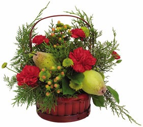 Basket Of Holiday Cheer from Verzaal's Florist & Events in Wilmington