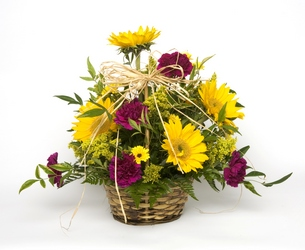 Basket of cheer from Verzaal's Florist & Events in Wilmington
