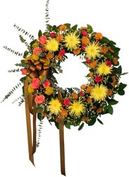 Sympathy Wreath from Verzaal's Florist & Events in Wilmington