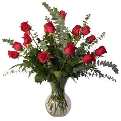 Stylish Dozen Roses from Verzaal's Florist & Events in Wilmington