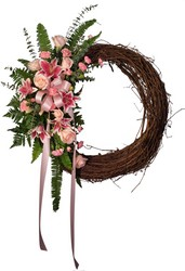 Grapevine Rememberance Wreath from Verzaal's Florist & Events in Wilmington