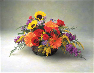 magnificent basket from Verzaal's Florist & Events in Wilmington
