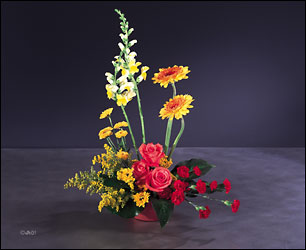 stand proud from Verzaal's Florist & Events in Wilmington