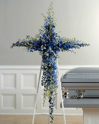 Delph cross from Verzaal's Florist & Events in Wilmington