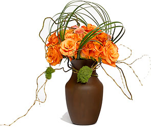 A tangled web from Verzaal's Florist & Events in Wilmington